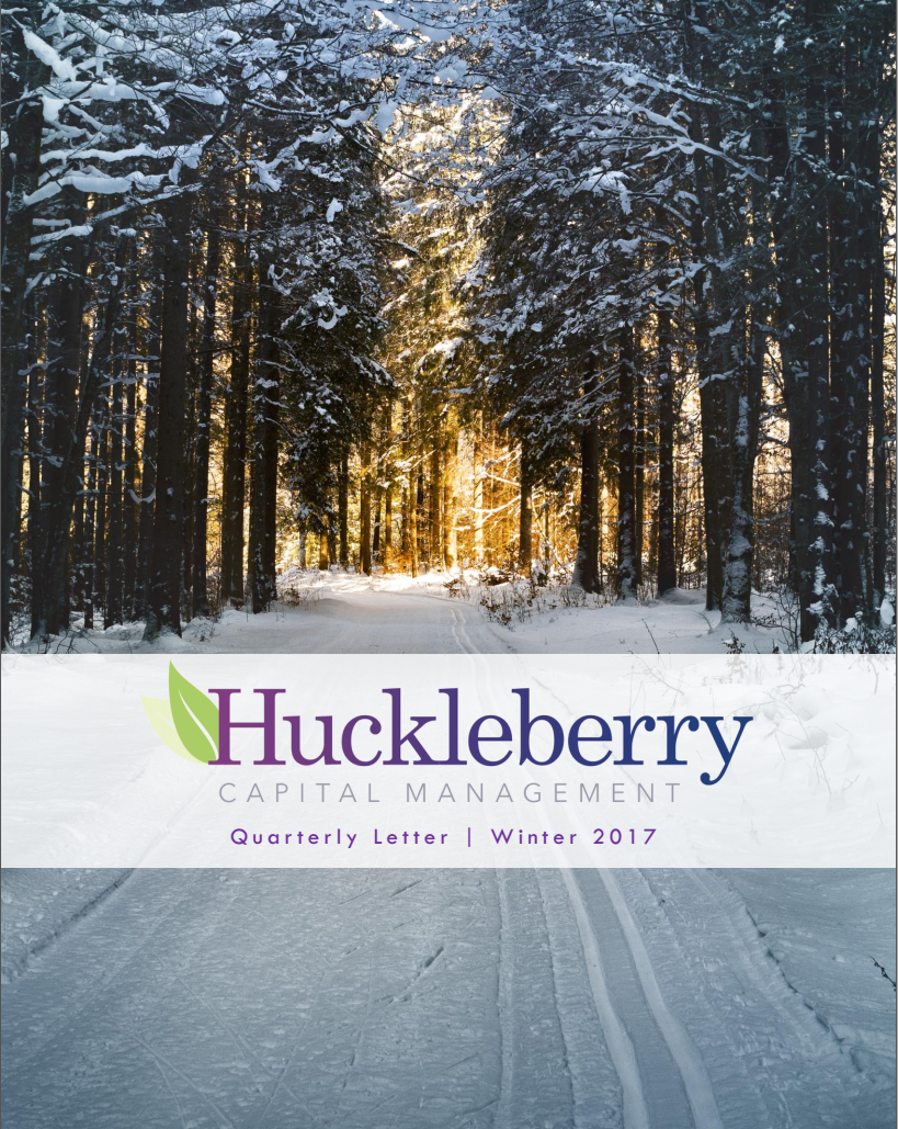 2017 Q4 Huckleberry Letter